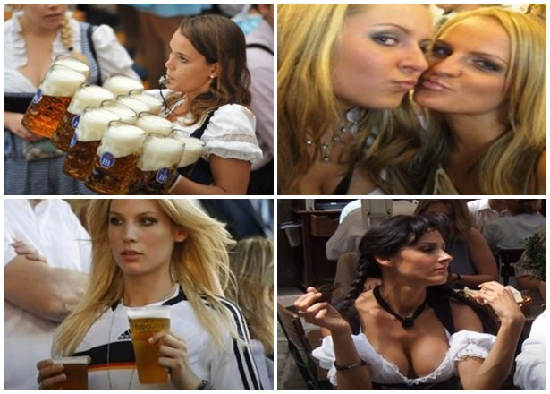 Chicas guapas alemanas