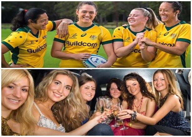 Mujeres bellas de Australia