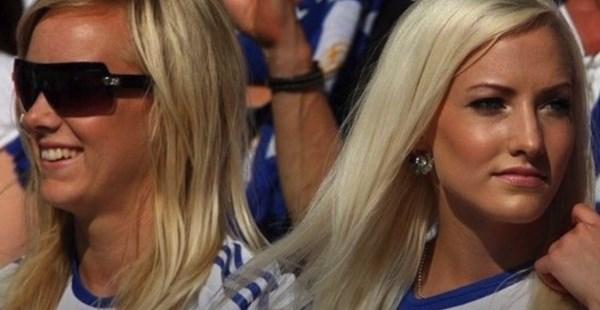 Mujeres bellas en Finlandia
