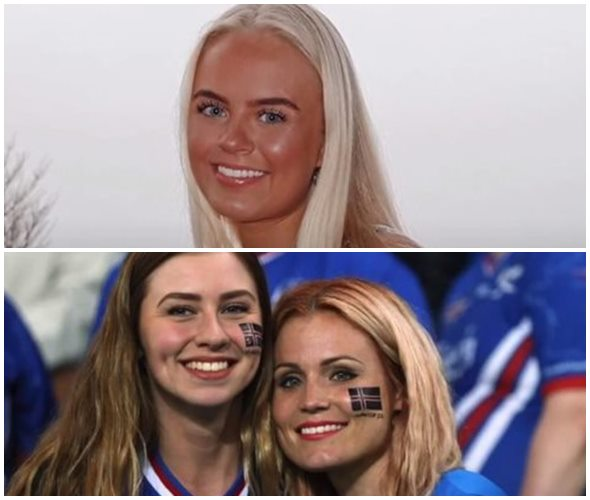 Mujeres bellas Islandia